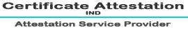 Certificate Attestation Ind